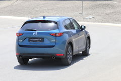 Przejażdżka drugie pokolenie restyled Mazda CX-5 skrzyżowanie SUV Zdjęcie Royalty Free