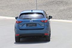 Przejażdżka drugie pokolenie restyled Mazda CX-5 skrzyżowanie SUV Obrazy Royalty Free