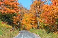Przejażdżka przez wiejskiego Vermont zdjęcia royalty free