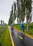 Przejażdżka w cycleway Zdjęcie Stock