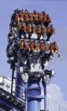 Przejażdżki przy universal studio SINGAPUR Zdjęcie Royalty Free