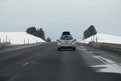 PRZEJAŻDŻKA NA USA 195 autostradzie zdjęcia royalty free
