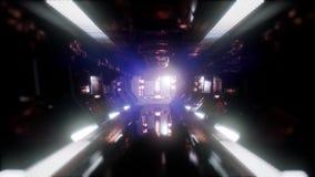 Przeja?d?ka w statku kosmicznego tunelu royalty ilustracja