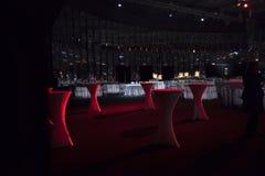 Przejrzyści krzesła Zdjęcia Royalty Free