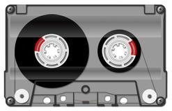 Przejrzysta audio kaseta, royalty ilustracja
