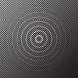 Przejrzysta biała woda dzwoni krople odizolowywać na w kratkę tle Wektorowy lekkiego skutka wzór ilustracji