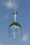 Przejrzysta butelka obraz royalty free