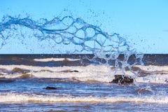 przejrzysta pluśnięcie woda Zdjęcie Royalty Free
