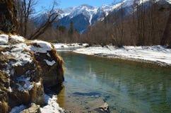 Przejrzysta rzeka Zdjęcie Royalty Free