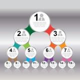 Przejrzysty balonowy Wektorowy sztandar z ikoną, dla prezentaci Obrazy Stock
