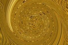 Przejrzysty cieniejący bagna płótno przekręca w spiralę Zdjęcia Royalty Free