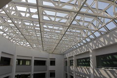 Przejrzysty dach Fotografia Stock