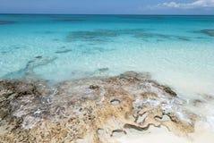 Przejrzysty morze karaibskie Obraz Stock
