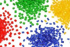 przejrzysty polimeru żywica obrazy stock