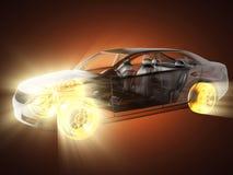 przejrzysty samochodowy pojęcie Zdjęcie Stock