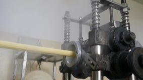 Przekąsek i ciastek produkcja przy fabryką zbiory wideo