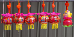 Przekąska bary w 2016 słońce lampionu festiwalu w Chengdu, porcelana Obraz Stock