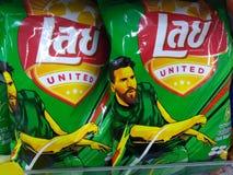 Przekąska dla światowego futbolu obraz stock