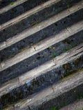 Przekątna kamienia kroki obrazy royalty free