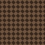 Przekątny tkaniny tekstury kwadratowy brown beżowy bezszwowy wzór Obrazy Royalty Free
