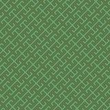 przekątny zieleni wzór Obrazy Royalty Free