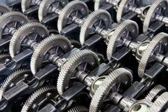 Przekładni koła dla gearbox zdjęcie stock