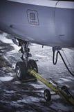 przekładni lądowania samolot Obraz Royalty Free