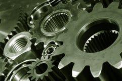 przekładni maszynerii titanium zdjęcia royalty free