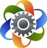 Przekładnia logo Zdjęcia Stock