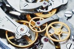 Przekładnia zegarowy mechanizm Zdjęcie Royalty Free