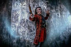 Przeklęty pirat zdjęcie royalty free