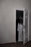 Przeklinająca horror dziewczyna obrazy stock