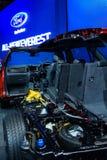 Przekrój poprzeczny Ford NOWY EVEREST Zdjęcia Stock