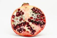 Przekrój poprzeczny freah granatowa owoc Zdjęcie Stock