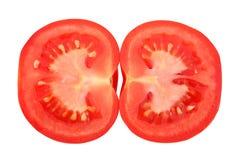 przekrój poprzeczny pomidor zdjęcia royalty free