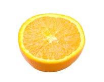 Przekrawająca dojrzała pomarańcze Zdjęcia Stock