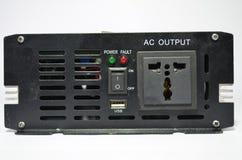 Przekształtnik, wsad konwertyty bezpośredni prąd w naprzemianległego prąd Zdjęcie Royalty Free