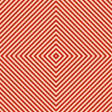 Przekątna pasiasty czerwony biały bezszwowy wzór Abstrakcjonistyczny powtórek linii prostych tekstury tło Obrazy Royalty Free