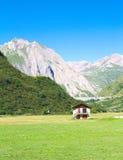 Przelotne spojrzenie formazza dolina Obrazy Royalty Free