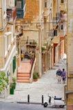 Przelotne spojrzenie Lascaris (los angeles Valletta, Malta,) Zdjęcie Royalty Free
