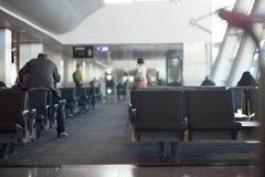 Przelotowy lotniskowy teren obraz stock