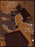 przemówienie polityczne Fotografia Royalty Free