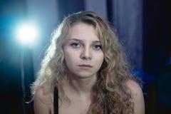 Przemoc domowa w rodzinie Zdjęcia Stock