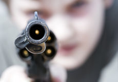 przemocy Fotografia Royalty Free