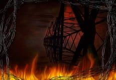 Przemysłowy apocalypse royalty ilustracja