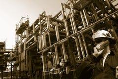 przemysłów rurociąg naftowy Zdjęcia Royalty Free