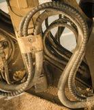 Przemysł budowy maszyny szczegóły Zdjęcia Royalty Free
