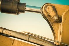 Przemysł budowy maszyny szczegóły Obrazy Royalty Free