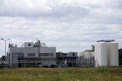 przemysł chemiczny Zdjęcie Stock