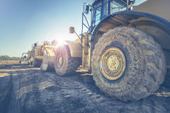 Przemysł Ciężki budowy wyposażenie zdjęcie stock
